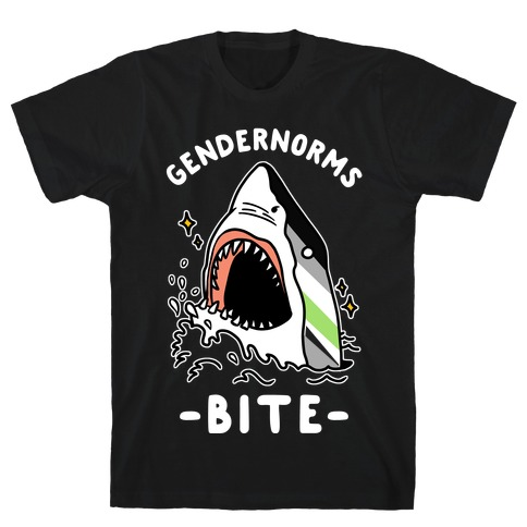 Gendernorms Bite Agender T-Shirt