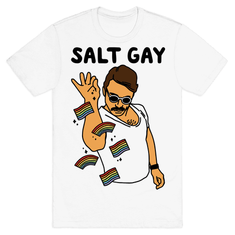 Salt Gay Mens T-Shirt