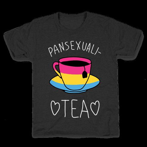 Pansexuali-TEA Kids T-Shirt