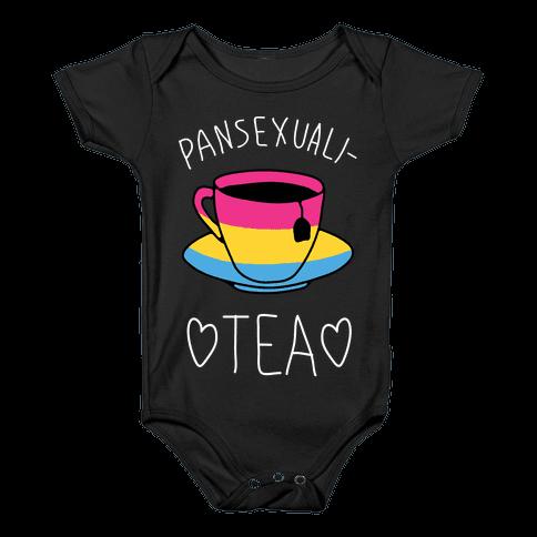 Pansexuali-TEA Baby Onesy