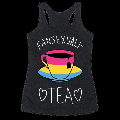 Pansexuali-TEA Racerback Tank Top