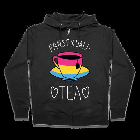 Pansexuali-TEA Zip Hoodie