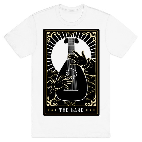 The Bard Tarot Card T-Shirt