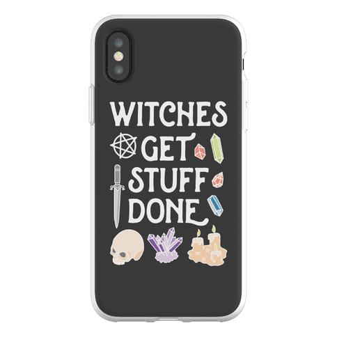 Witches Get Stuff Done Phone Flexi-Case