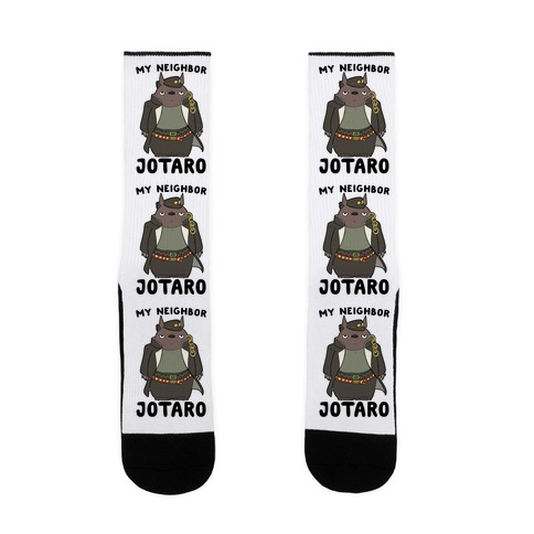 My Neighbor Jotaro Sock