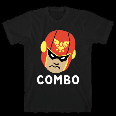 Wombo Combo - Captain Falcon (1 of 2 Set) Mens T-Shirt