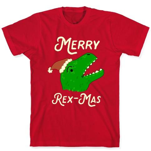 Merry Rex-mas T-Shirt