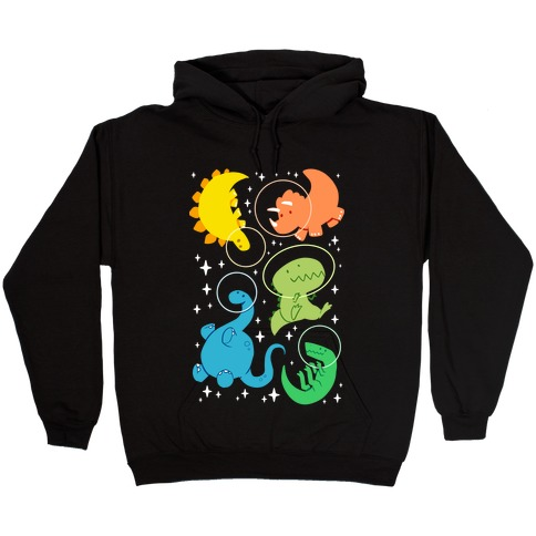 Space Dinos Hooded Sweatshirt