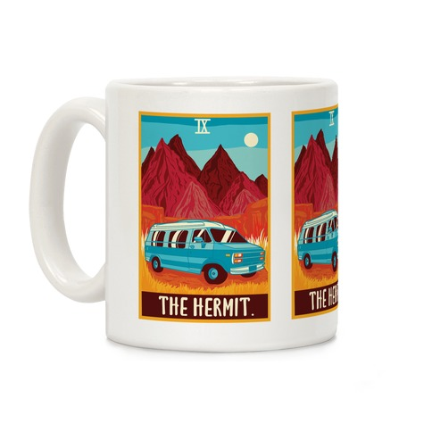 The Hermit Van Life Tarot Coffee Mug
