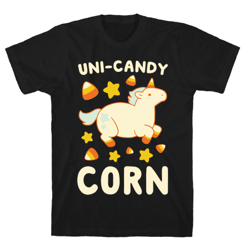 Uni-Candy Corn Mens T-Shirt