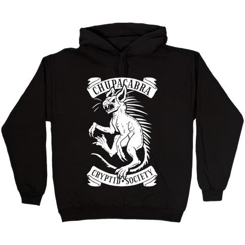 Chupacabra Cryptid Society Hooded Sweatshirt