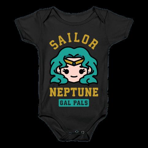 Sailor Neptune Gal Pal Baby Onesy