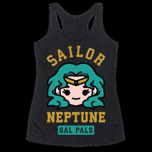 Sailor Neptune Gal Pal Racerback Tank Top