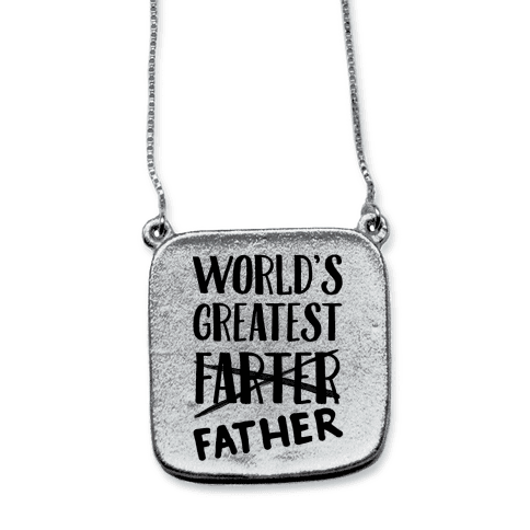 World's Greatest Farter necklace