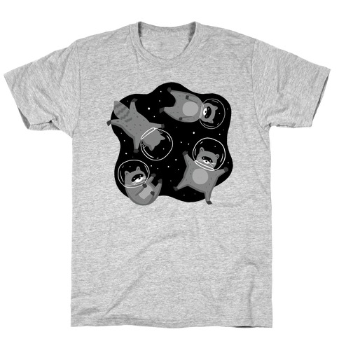 Raccoons In Space T-Shirt