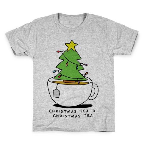 Christmas Tea O Christmas Tea Kids T-Shirt