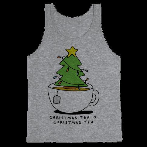 Christmas Tea O Christmas Tea Tank Top