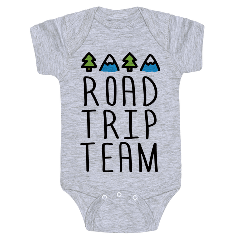 Road Trip Team Baby Onesy