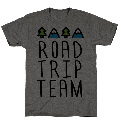 Road Trip Team Mens T-Shirt