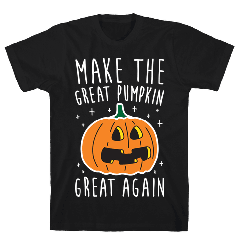 Make The Great Pumpkin Great Again Mens T-Shirt