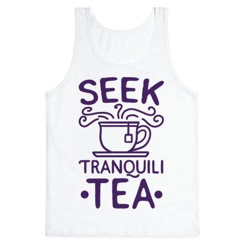 Seek Tranquili-tea Tank Top