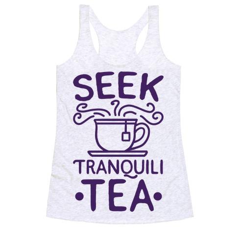 Seek Tranquili-tea Racerback Tank Top