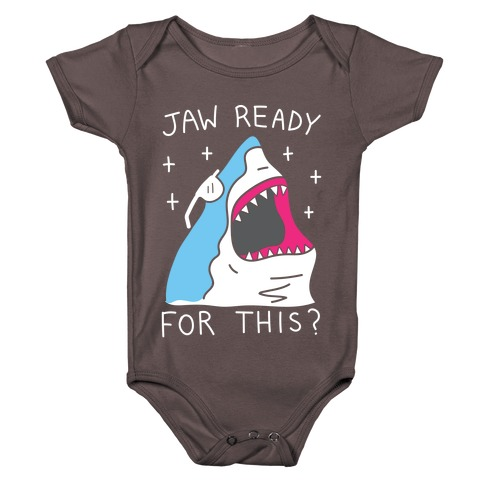 Jaw Ready For This? Shark Baby One-Piece