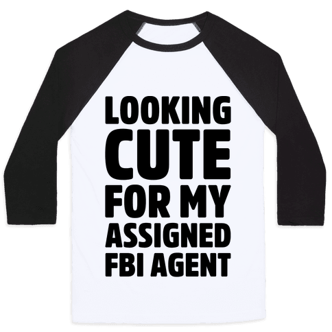 Looking Cute For My Assigned FBI Agent Parody