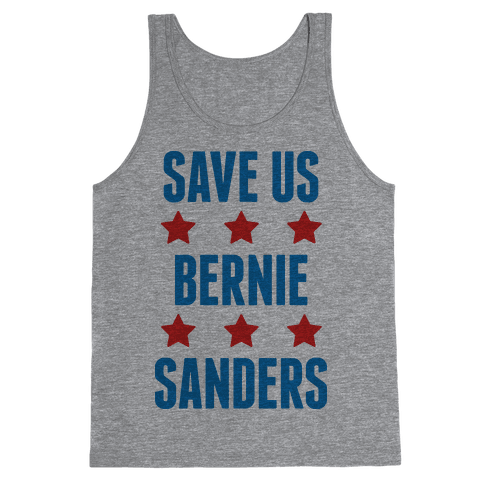 Save Us Bernie Sanders Tank Top