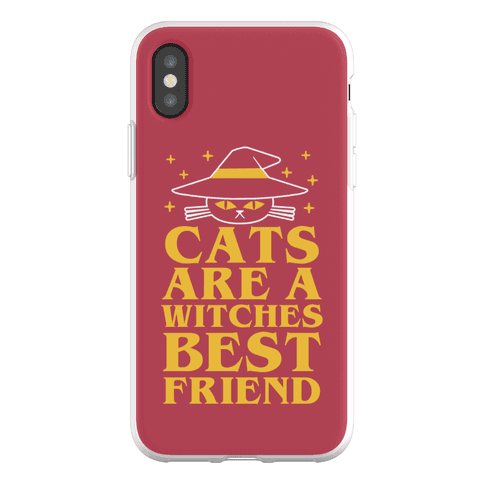 Cats are a Witches Best Friend Phone Flexi-Case