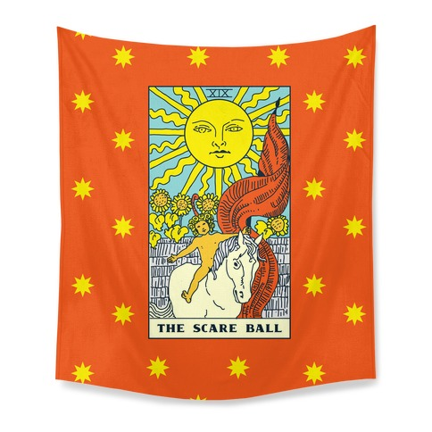 The Scare Ball Tarot Tapestry