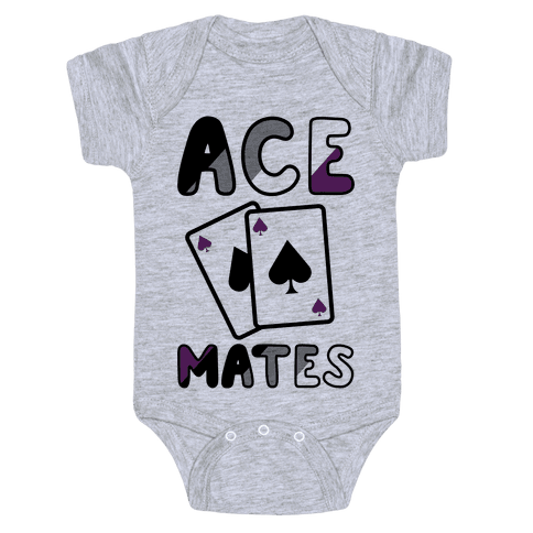 Ace Mates A Baby Onesy