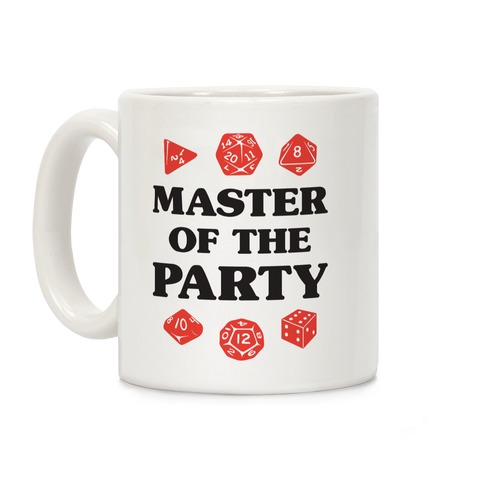 Master of the Party Coffee Mug