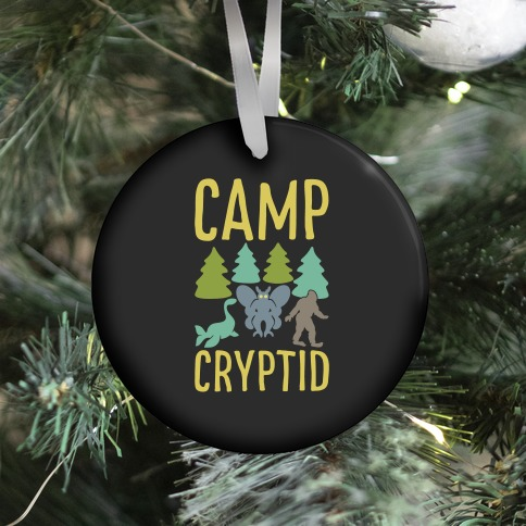 Camp Cryptid Ornament
