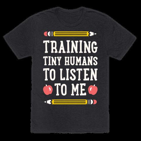 Training Tiny Humans To Listen To Me - White