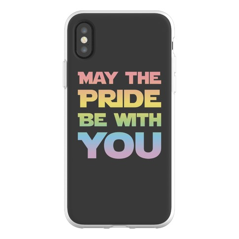May The Pride Be With You Parody Phone Flexi-Case