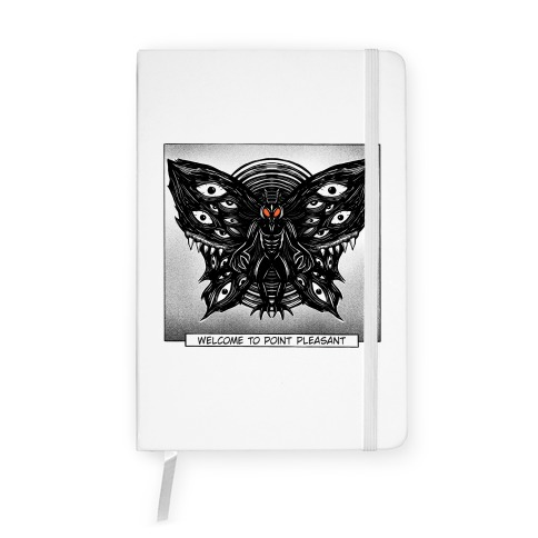 Welcome To Point Pleasant Mothman Manga Notebook