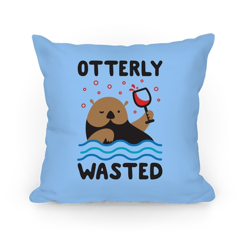 Otterly Wasted Pillow