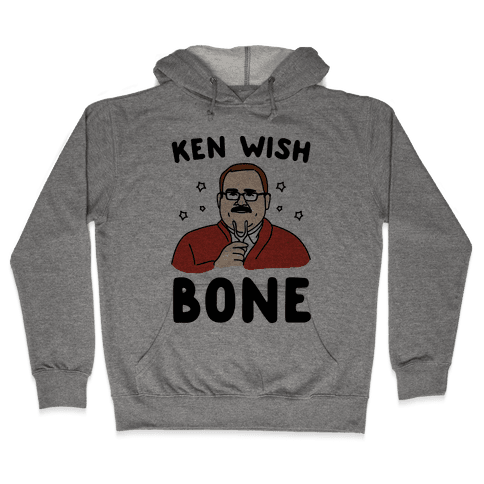 Ken Wish Bone Hooded Sweatshirt