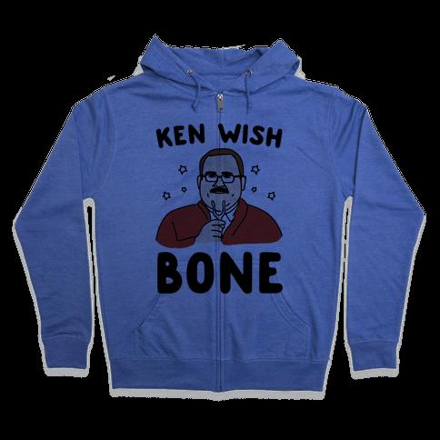 Ken Wish Bone Zip Hoodie