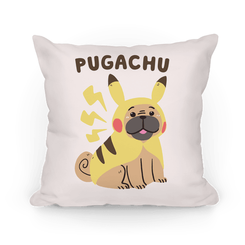 Pugachu Pillow