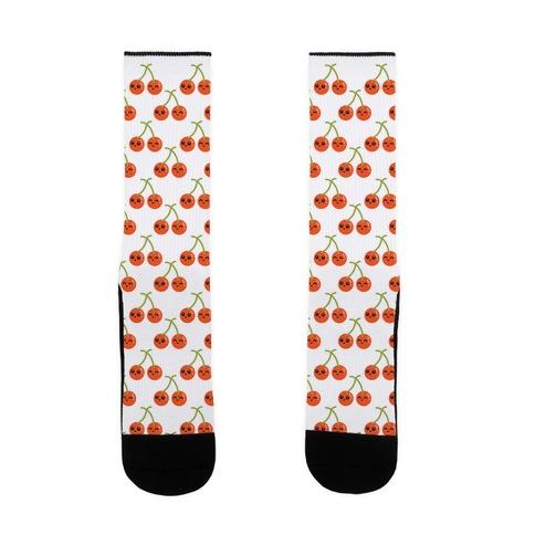 Cheery Cherries Sock