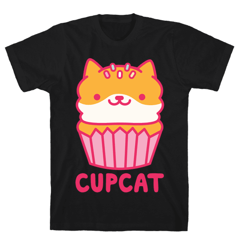 Cupcat Mens T-Shirt