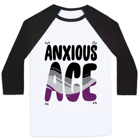 Anxious Ace Baseball Tee