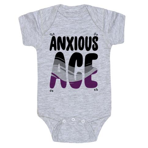 Anxious Ace Baby Onesy