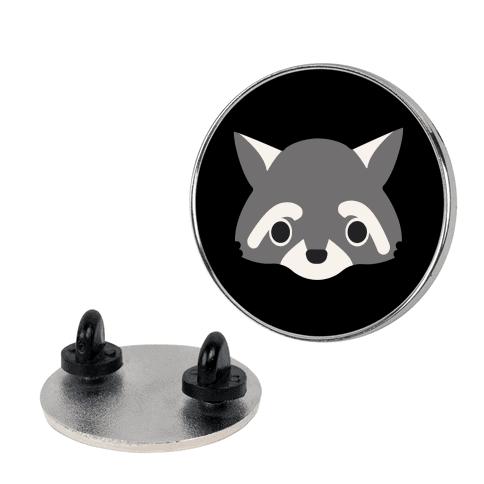 Cute Raccoon Face pin