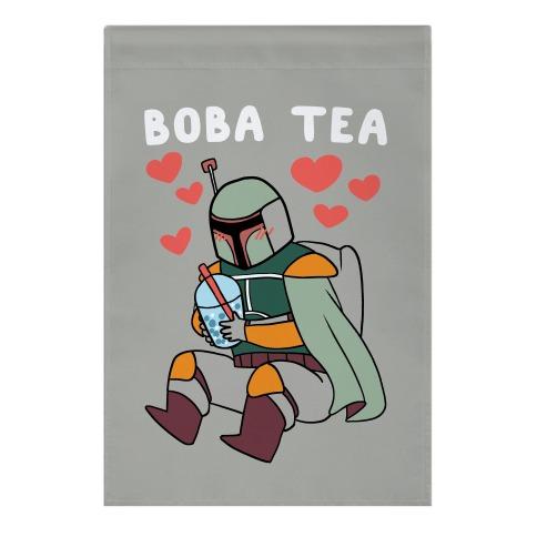 Boba Fett Tea Garden Flag