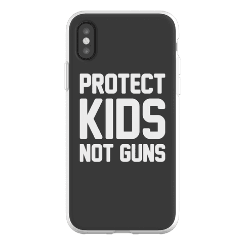Protect Kids Not Guns Phone Flexi-Case
