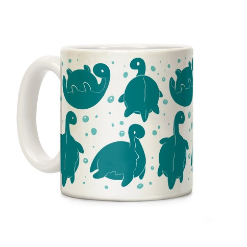 Cute Nessie Pattern Coffee Mug