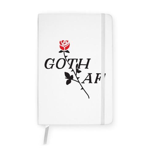 Goth AF Notebook